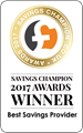 Savings Champion Winner 2017