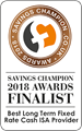 Savings Champion Finalist 2018